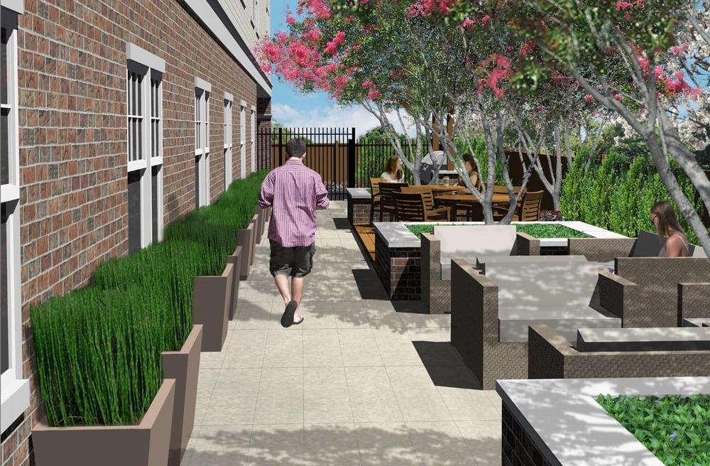 12 bartlett amenities outdoor garden and complementary for Indoor gardening near me
