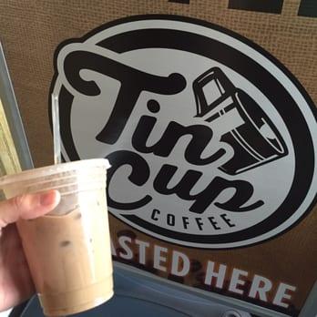 Photo Of Tin Cup Coffee Nashville Tn United States Nutella Mocha