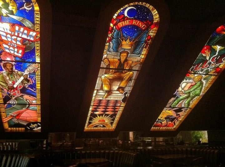 Hard Rock Cafe Dallas Stained Glass