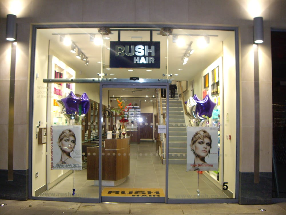 Rush Hair Hairdressers 5 Friary Street Guildford Surrey