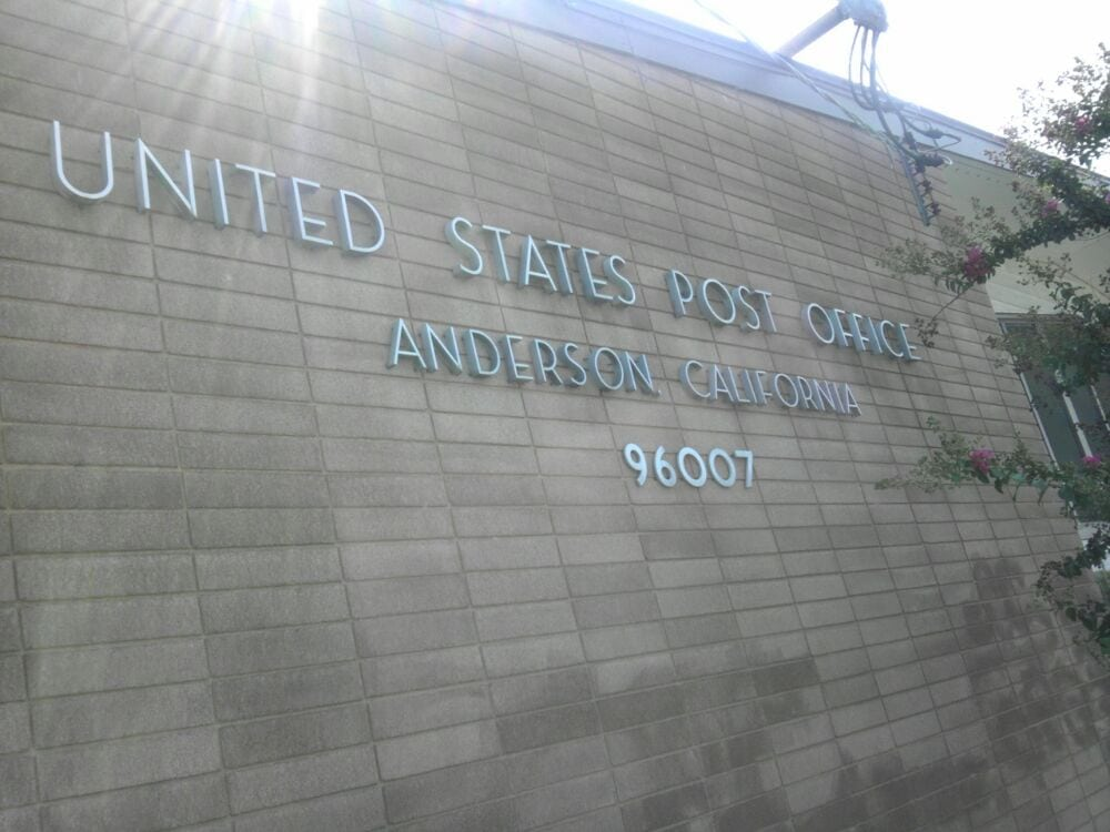 US Post Office: 2141 Ferry St, Anderson, CA