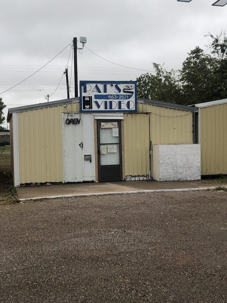 Pat's Video: 1005 W 11th St, Quanah, TX
