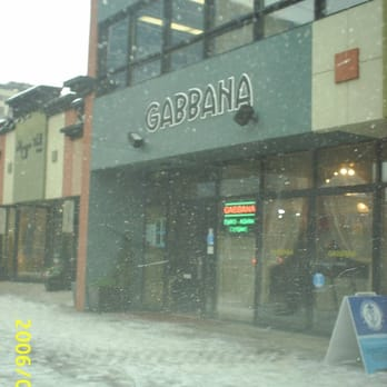 Gabbana Restaurant Edmonton Ab