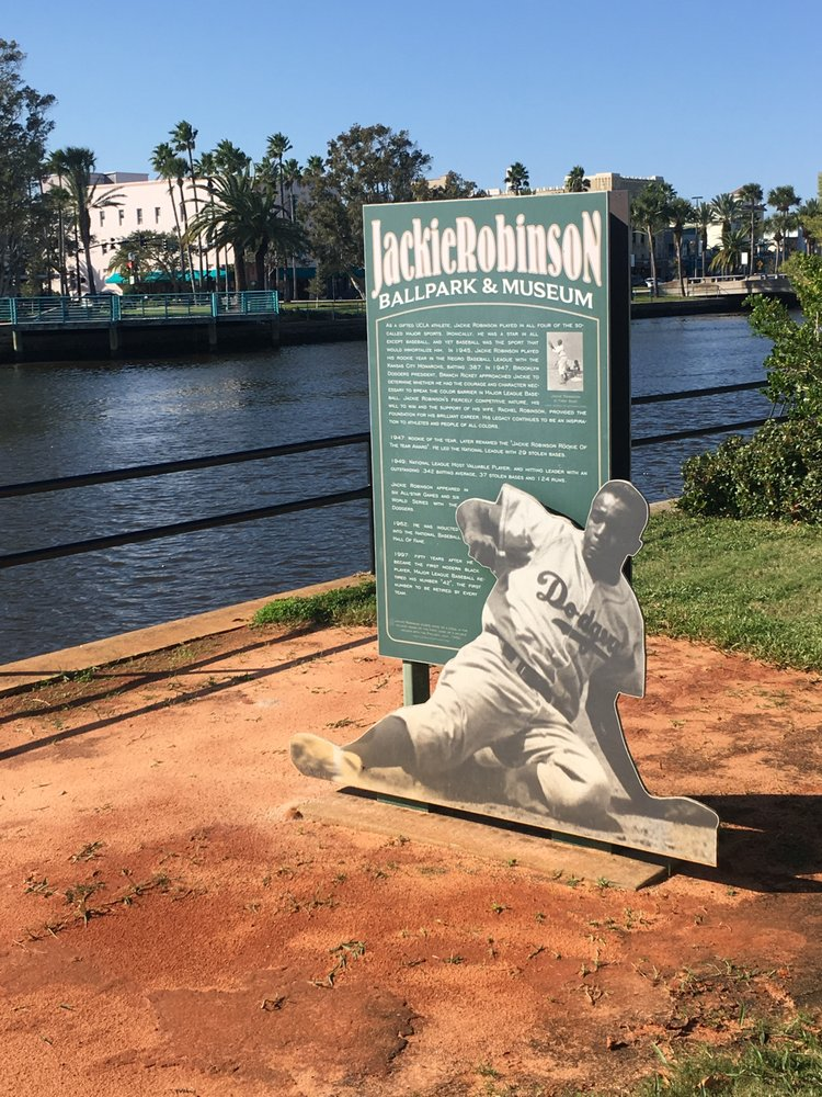 Jackie Robinson Ballpark and Statue