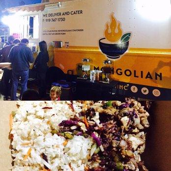 Mr Mongolian Food Truck Raleigh Nc