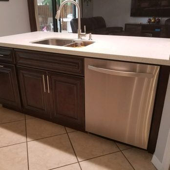 Jvm kitchen cabinet granite 113 photos 13 reviews for Kitchen cabinets hialeah