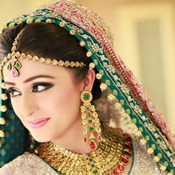 Photo of Dulhanz Makeup Studio & Design Services - Round Rock, TX, United States. Indian & Pakistani Bridal ...