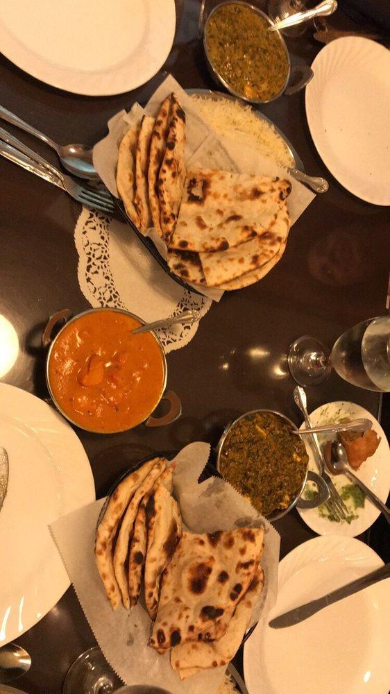 Food from Taj Mahal