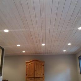 Pine Shiplap Ceiling