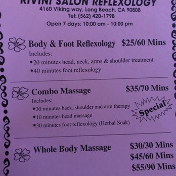 Photo Of Rivini Foot Reflexology Long Beach Ca United States