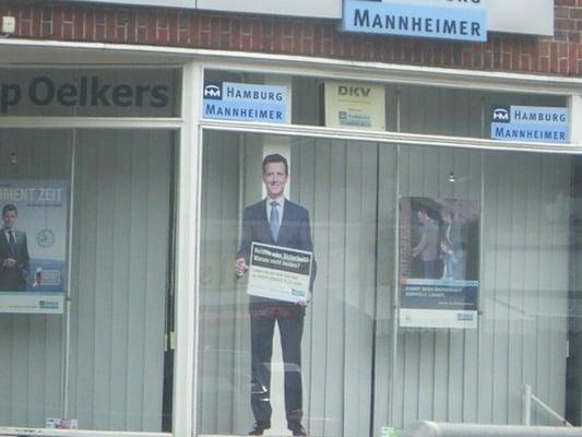 Hamburg Mannheimer Versicherung Humboldtstr 7 Barmbek Süd