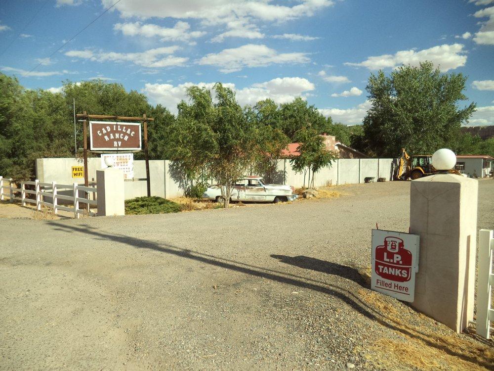 Cadillac Ranch R V Park: 630 E Main St, Bluff, UT