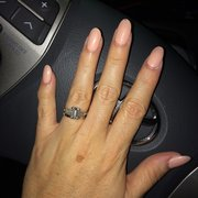 place bonjour nails santa