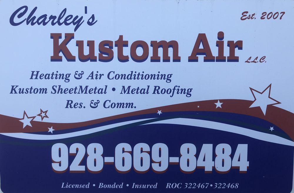 Charley's Kustom Air: 100 S Kofa Ave, Parker, AZ