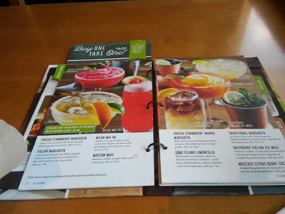 Pizza Olive Garden Menu: My Favorite Part Of The Menu, Of Course Haha