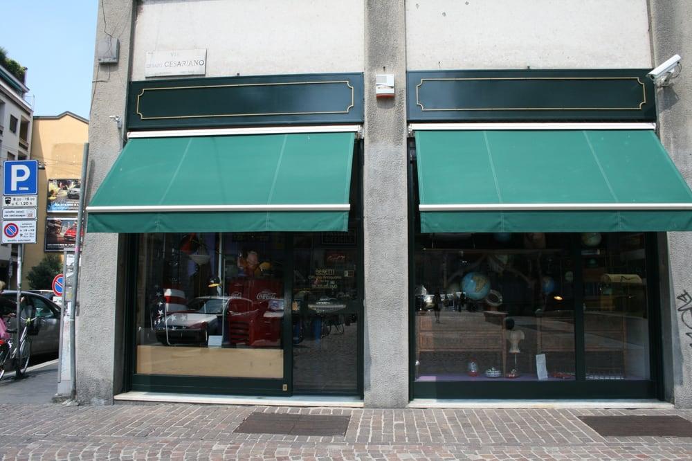 Beretti officina antiquaria antiquari e restauratori for Antiquari a milano