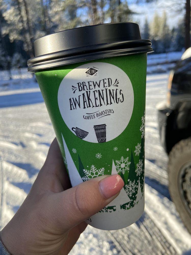 Brewed Awakening: 1025 Main St, Aumsville, OR