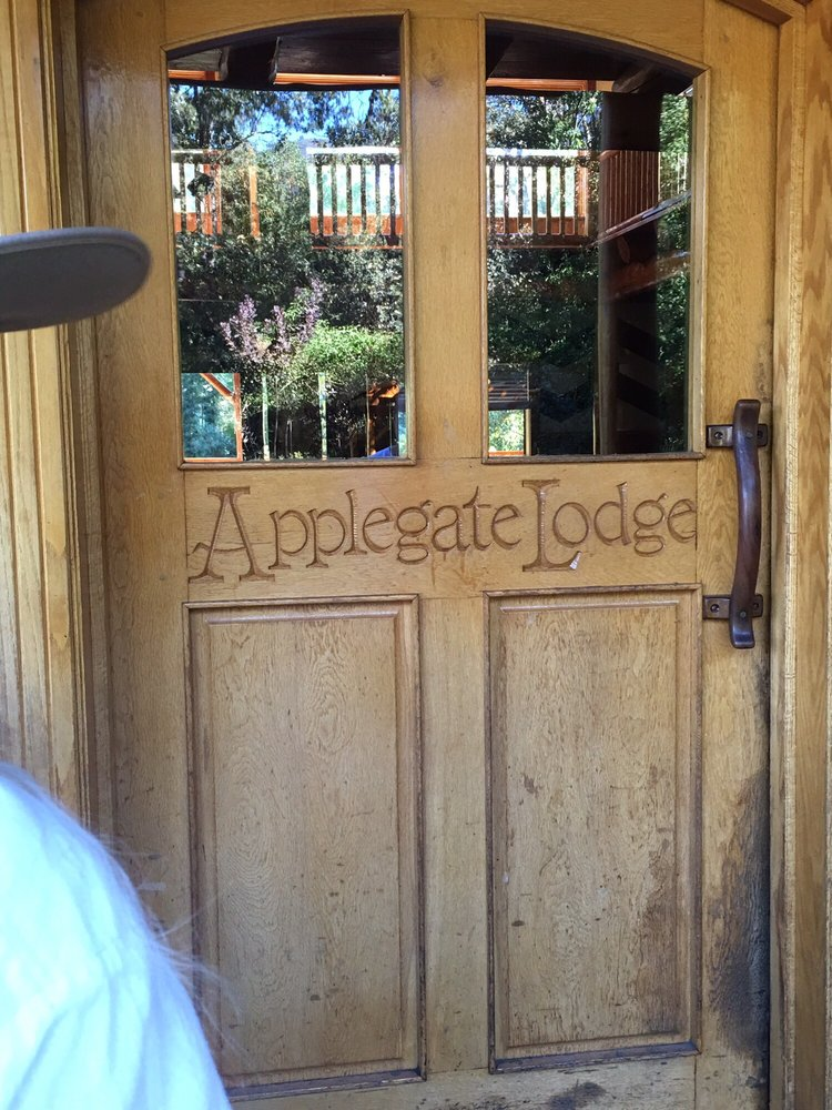 Photo Of Applegate River Lodge   Applegate, OR, United States. Hand Carved
