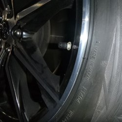 Photo Of Tires Plus Madison Wi United States Scratched Back Left Wheel