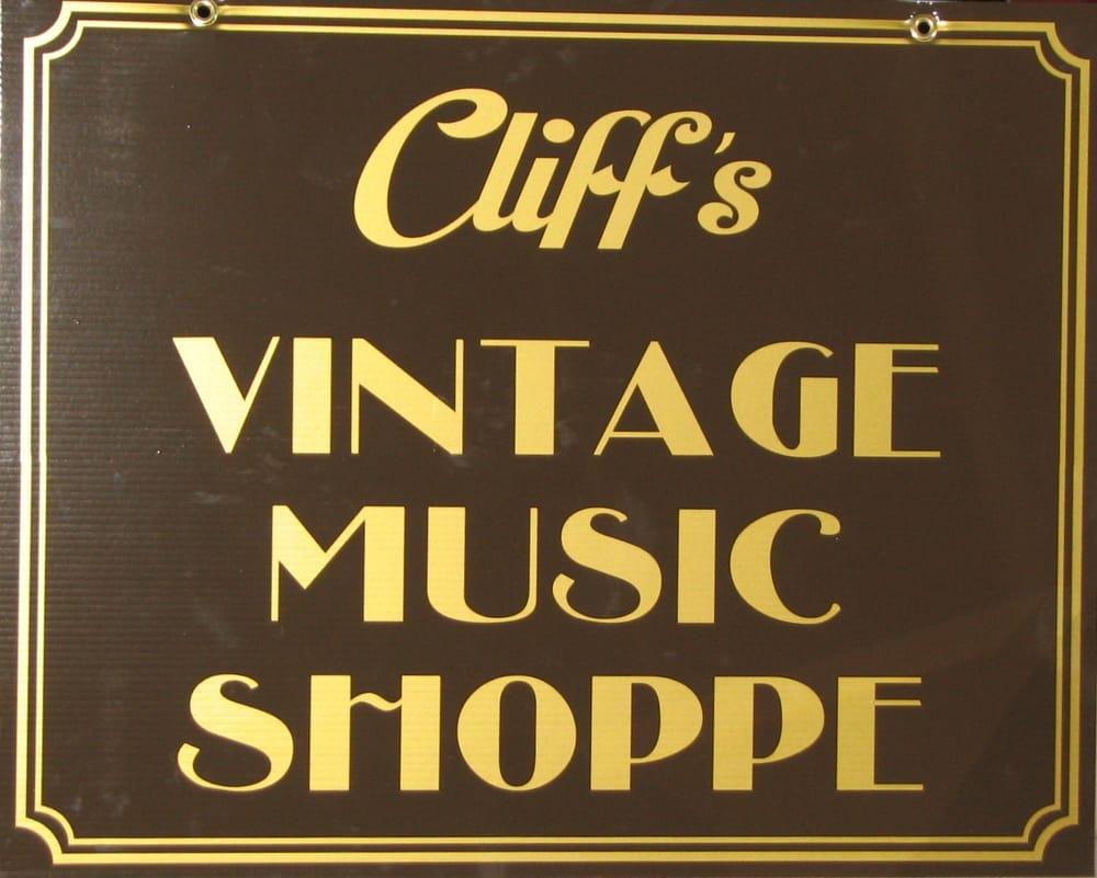 Cliff's Vintage Music Shoppe: 26 W Cowlitz St, Castle Rock, WA