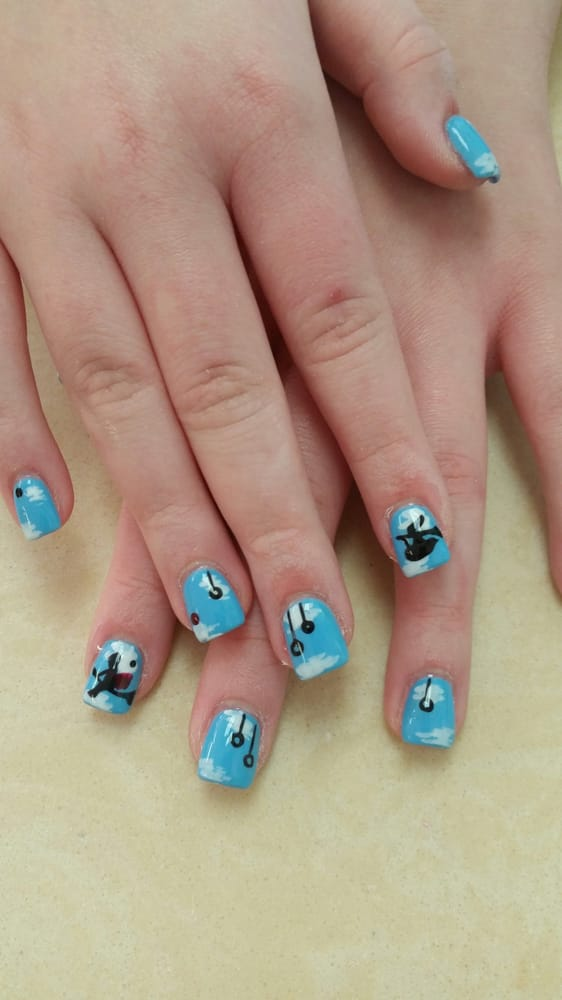 Nail art design for harrry potter fans yelp for 5 star nail salon