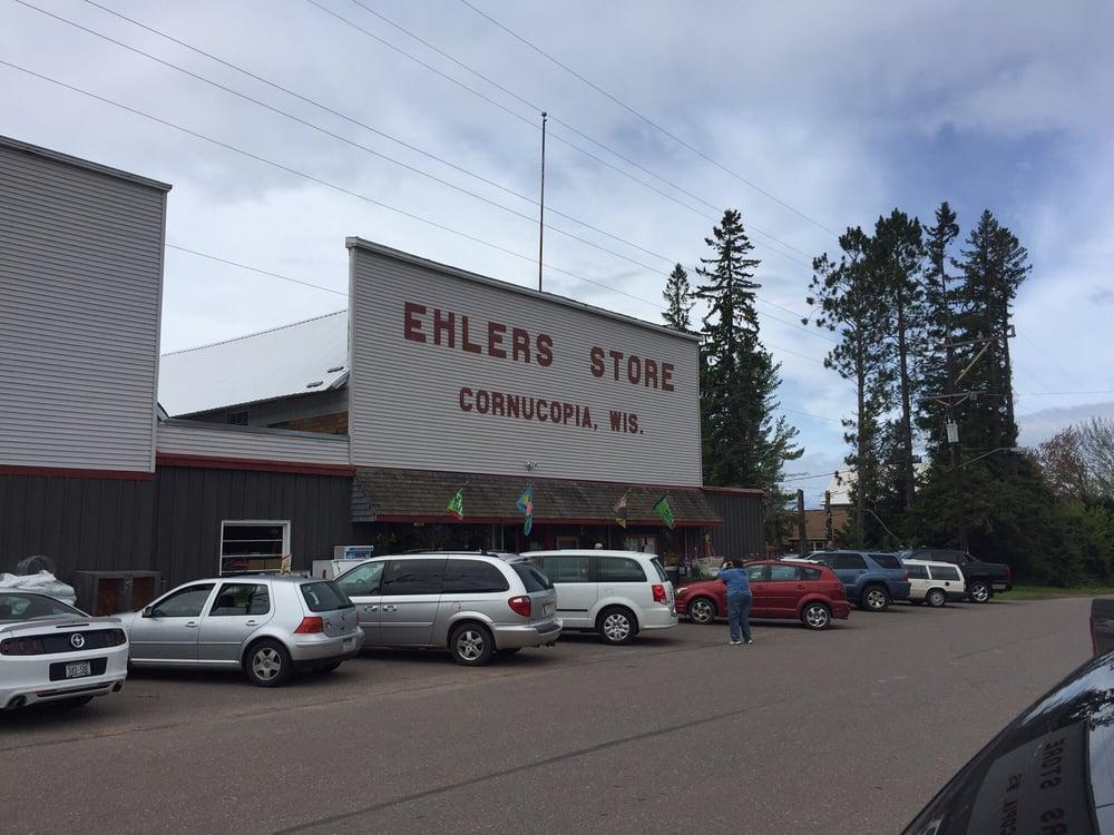 Ehlers Store: 88545 Superior Ave, Cornucopia, WI