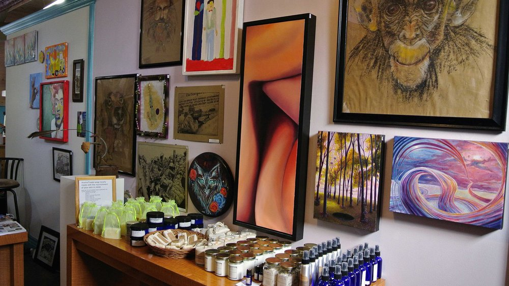 Rosette Studios: Arts & Letters: 214 S Campbell Ave, Springfield, MO