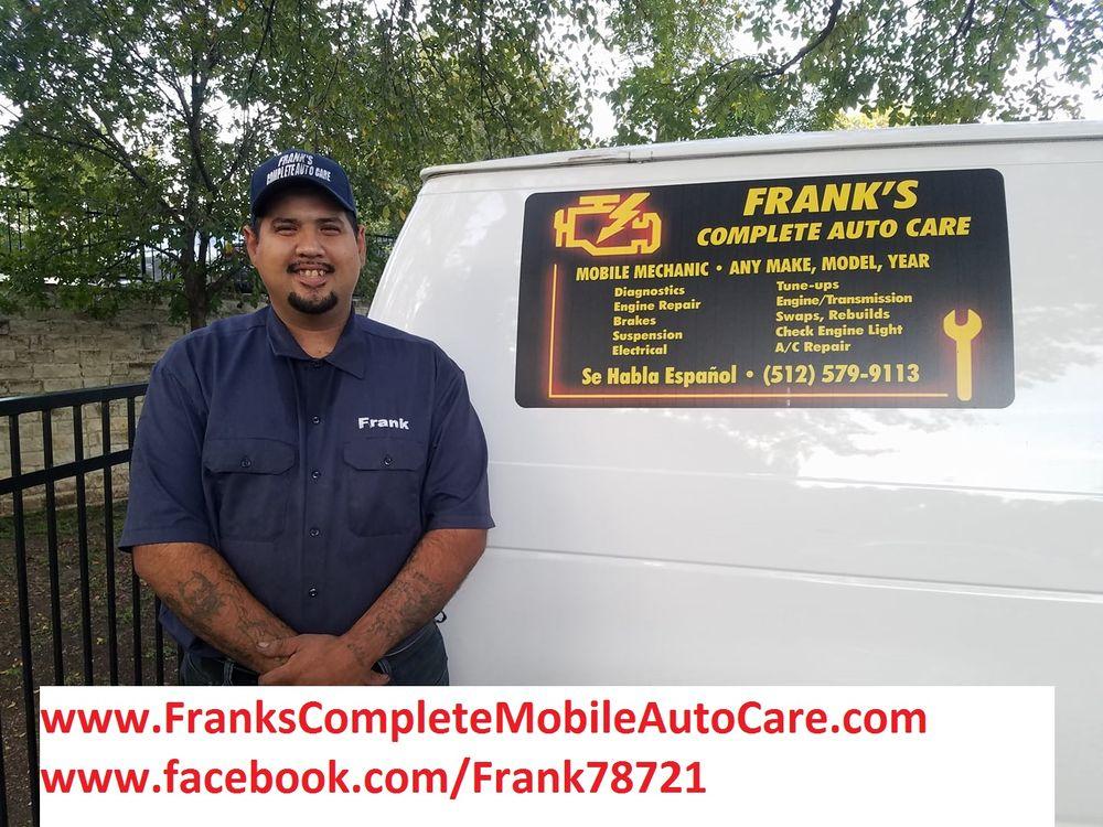 Frank's Complete Mobile Auto Care