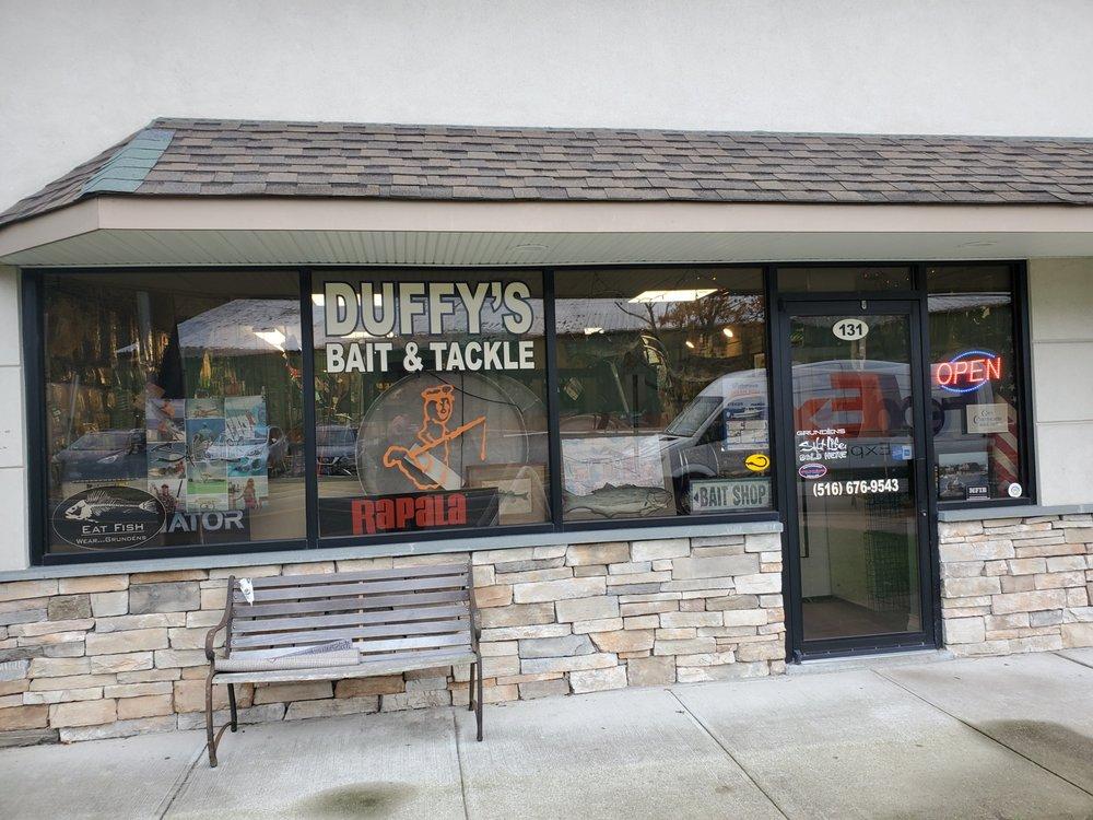Duffy's Bait & Tackle: 131 Glenwood Rd, Glenwood Landing, NY