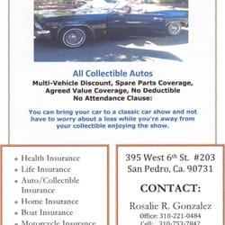Rosalie Gonzalez CLOSED Insurance W Th St Ste San - Car show insurance coverage