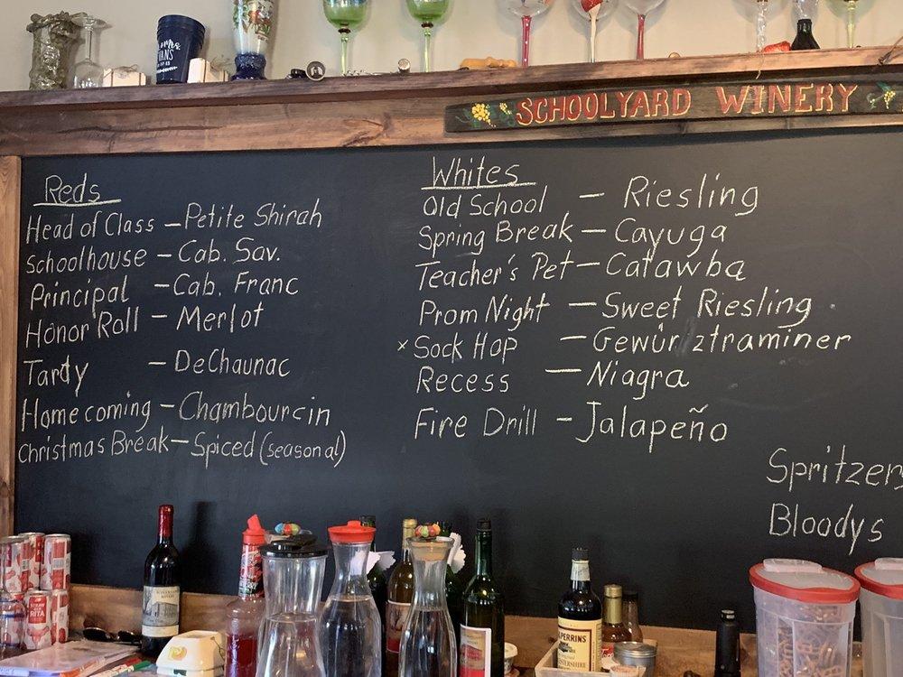 Schoolyard Winery: 14923 Walton Verona Rd, Verona, KY