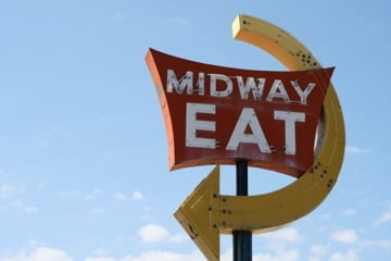 Midway Eat: N529 WI-57, Random Lake, WI