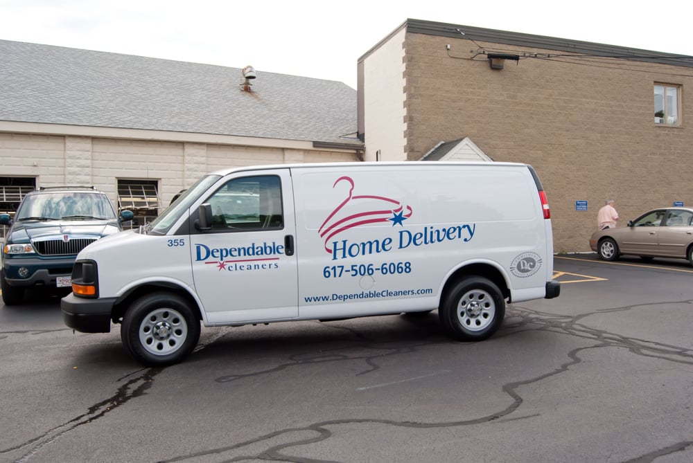 Dependable Cleaners Delivery