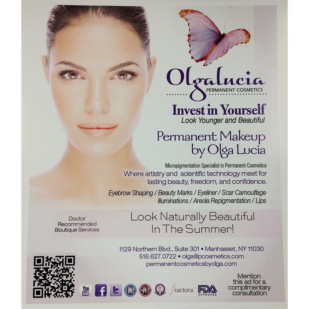 Olga Lucia Permanent Cosmetics: 1129 Northern Blvd, Manhasset, NY