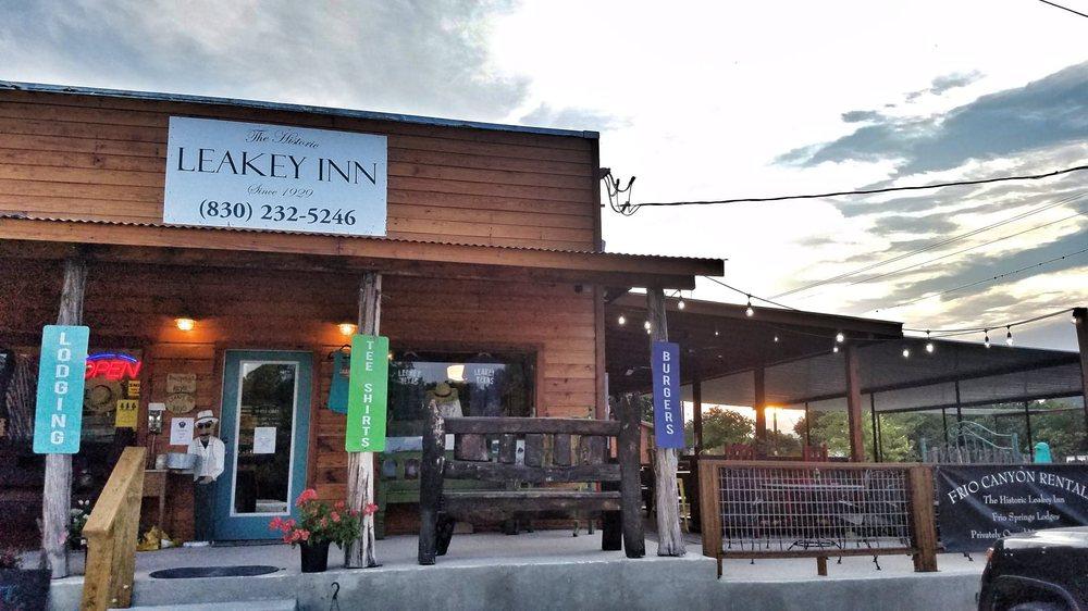 The Historic Leakey Inn: 527 S Hwy 83, Leakey, TX