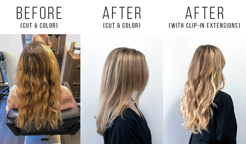 Before And After Getting My Hair Cut Colored By Sora She Also