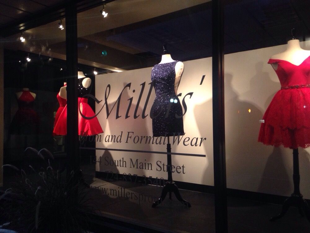 Millers Prom And Formal Wear Womens Clothing 144 S Main St