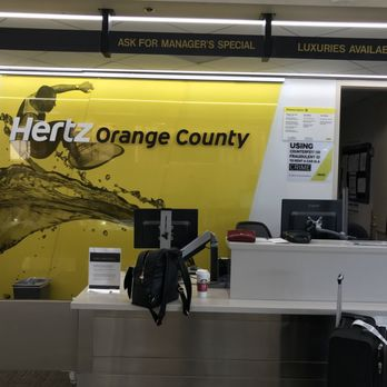 Hertz Car Rental John Wayne Airport Reviews