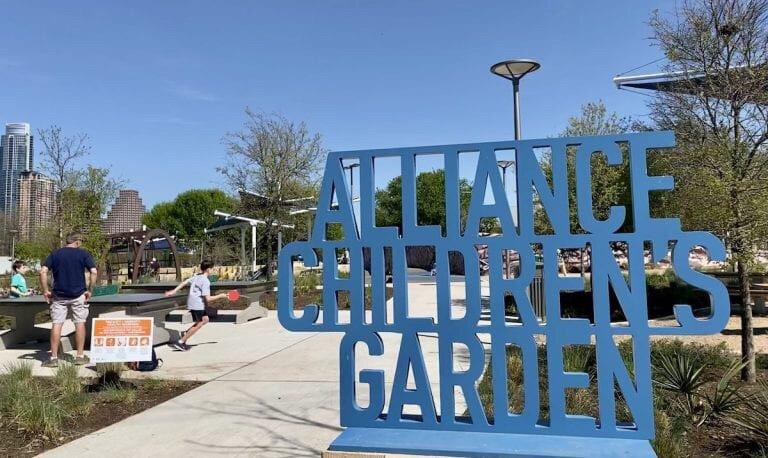 Alliance Children's Garden: 1000 Barton Springs Rd, Austin, TX