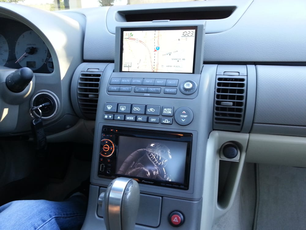 Photo Of Audiofoni Irvine Ca United States Infiniti G35 With Pioneer Touch