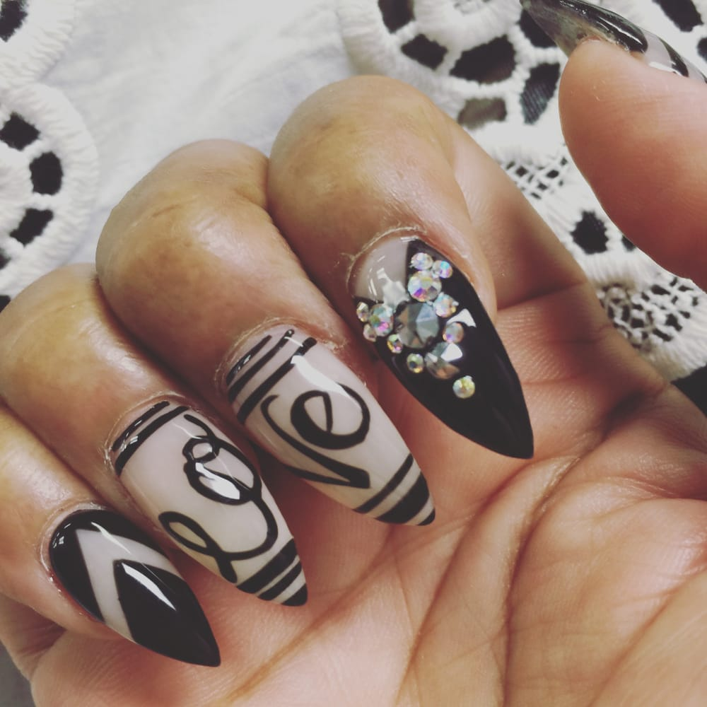 Wicked Nail Art Spikedtotheskies Yelp