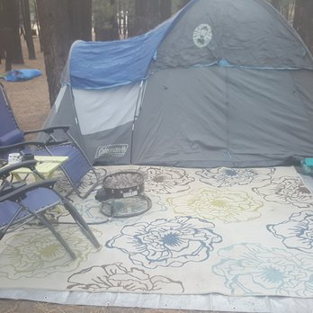 Photo of New Shady Rest Campgrounds - Mammoth Lakes, CA, United States. Tent