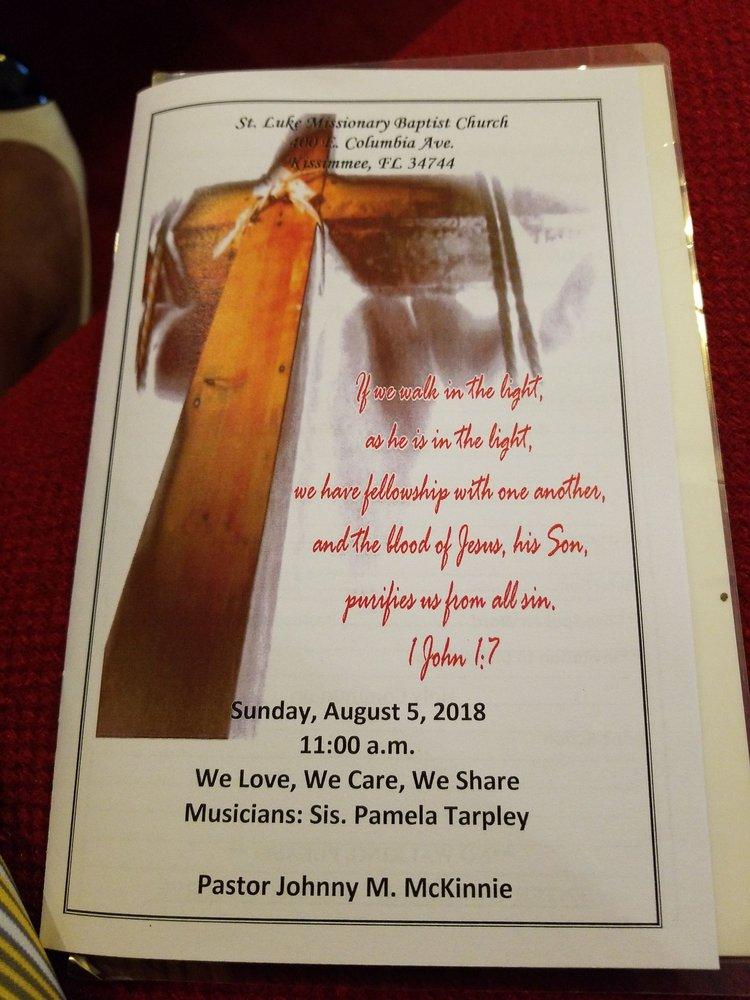 St Luke Missionary Baptist Church Churches 400 E Columbia Ave