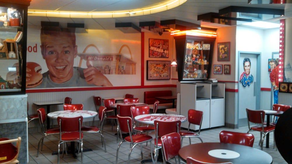 Dining Area Mcdonalds Classic 1950 39 S Interior Yelp
