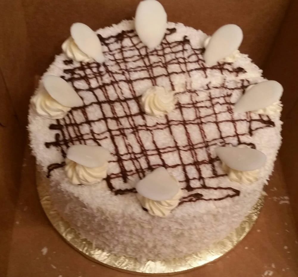 Cake And Art Yelp : Coconut cake - Yelp