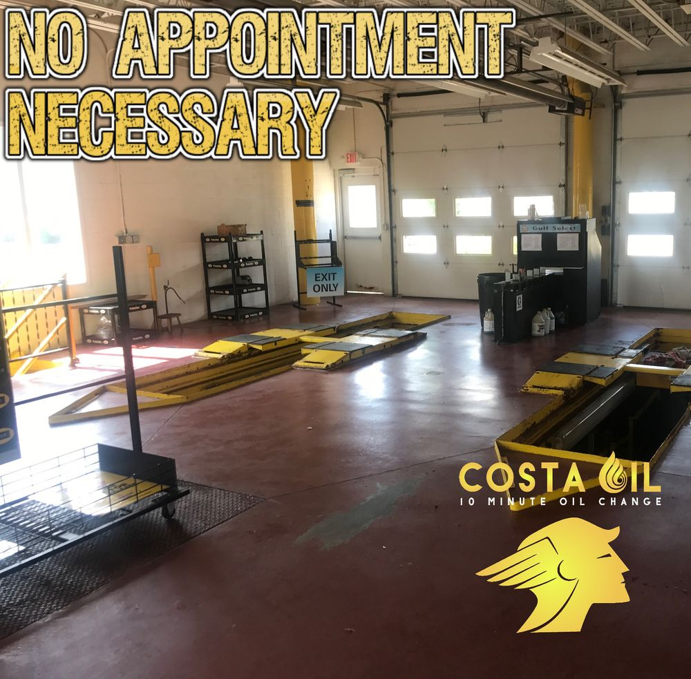 Costa Oil - 10 Minute Oil Change - Youngstown: 8525 South Ave, Youngstown, OH