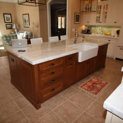 Delicieux Photo Of Kitchens By Design   Vero Beach, FL, United States. Stained Island