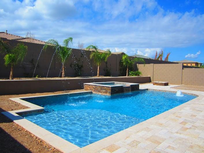 Natural reflections pools spas pool hot tub service for Natural pools arizona