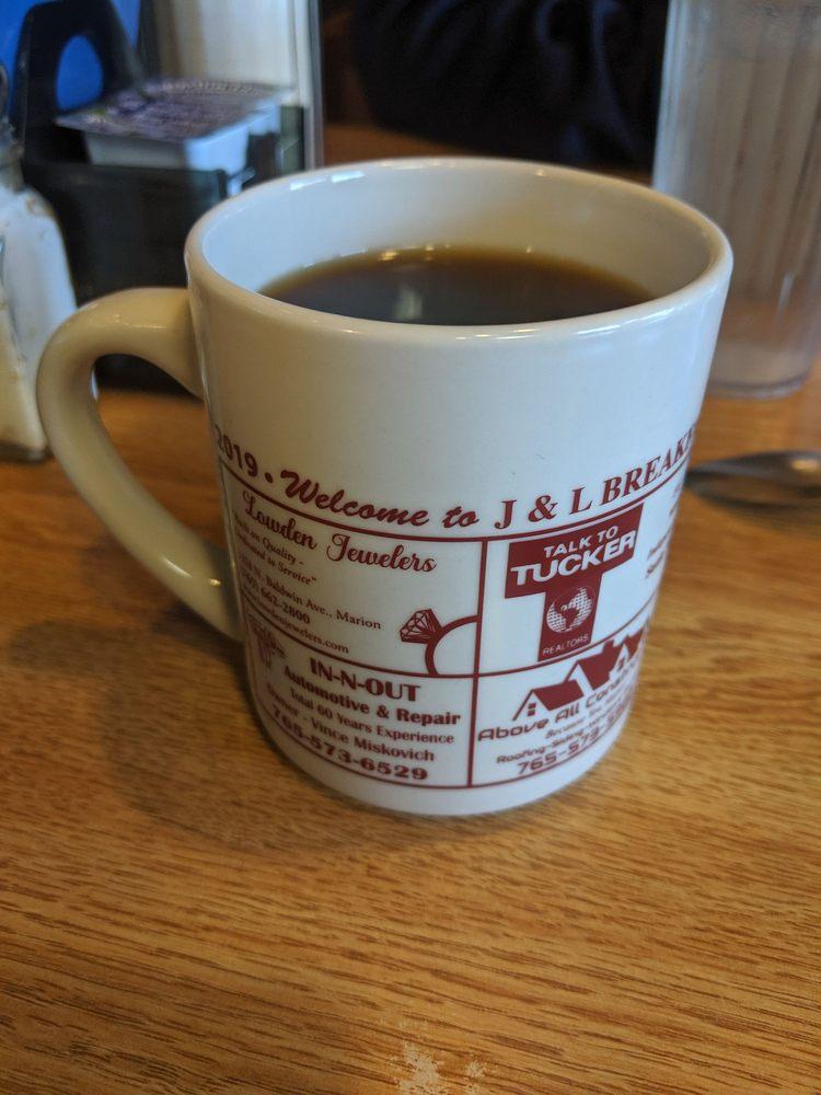 J & L Breakfast & Steak House: 601 W 38th St, Marion, IN