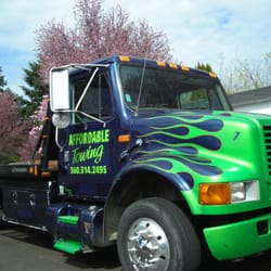 Photo of Affordable Towing and Transport - Vancouver, WA, United States. The flatbed